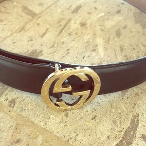 Authentic Gucci GG Belt.  Used.  Good Condition.